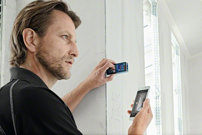Bosch Laser Entfernungsmesser Bluetooth : Laser entfernungsmesser bosch glm c professional · jetzt